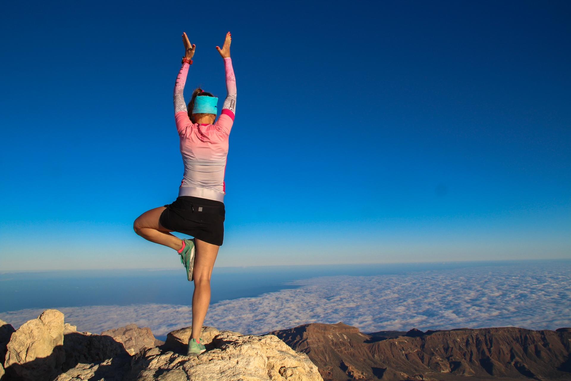 Teide, Teneryfa, bieganie po górach