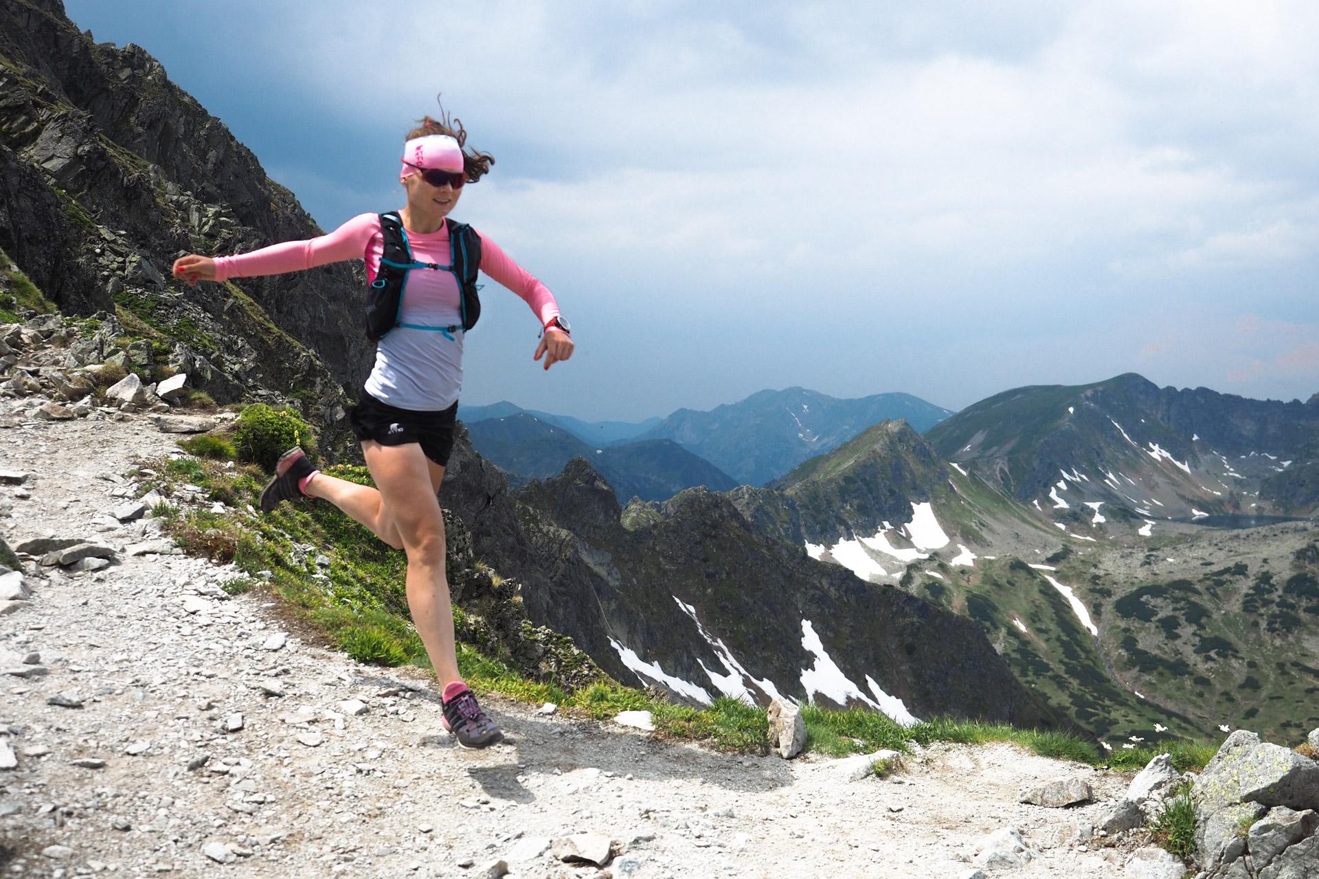 Szpiglasowa Przełęcz, Tatry Wysokie, bieganie po górach