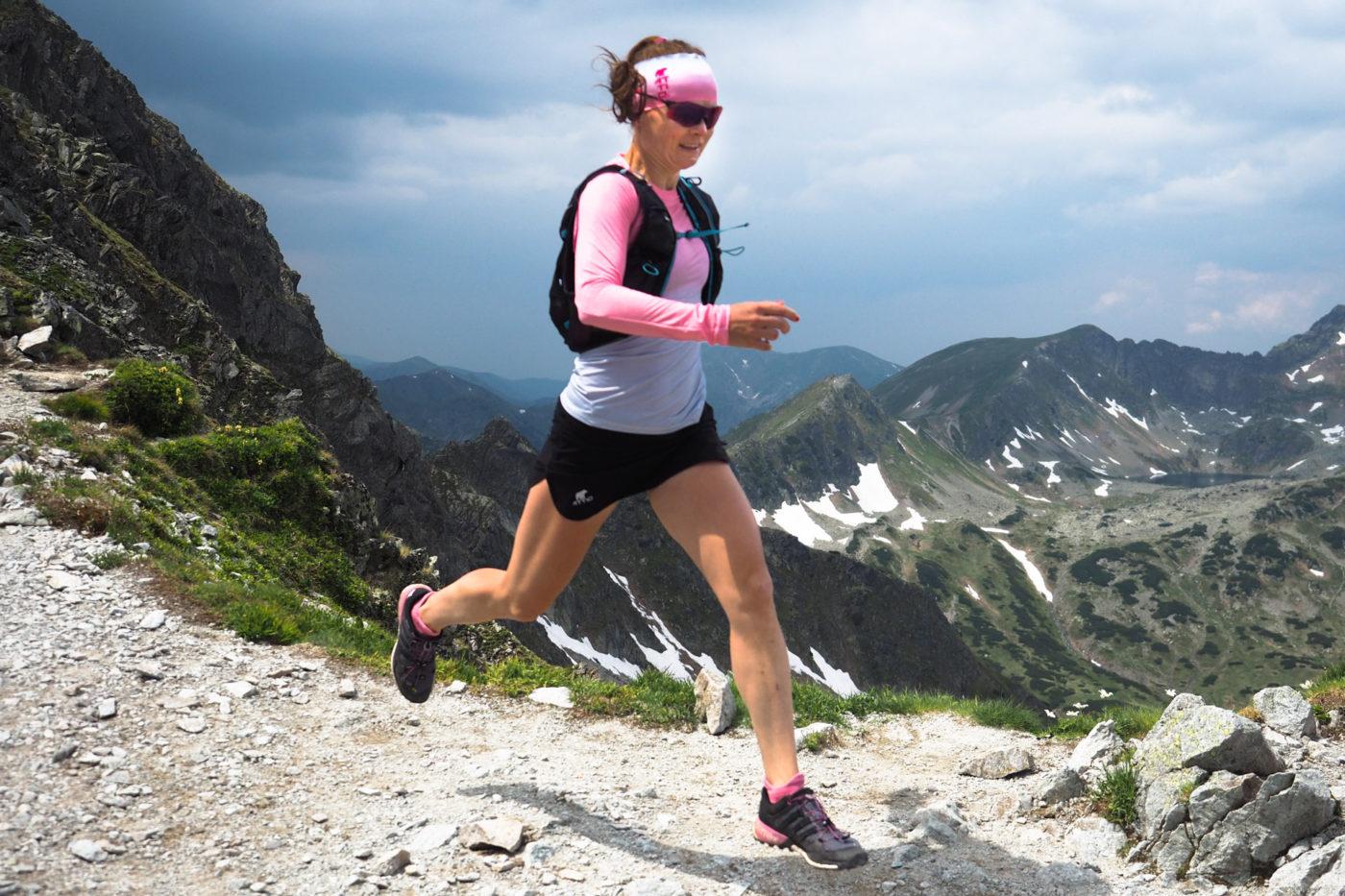 Szpiglasowa Przełęcz, Tatry Wysokie, biegane po górach, zbiegi