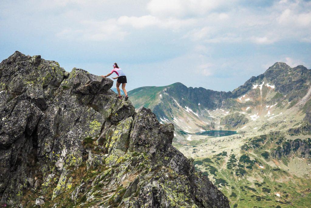 Tatry Wysokie, bieganie po górach, scrambling