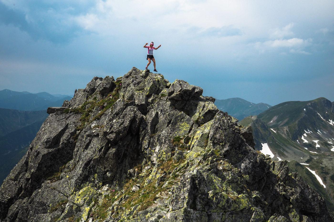 Szpiglasowy Wierch, Tatry Wysokie, bieganie po górach