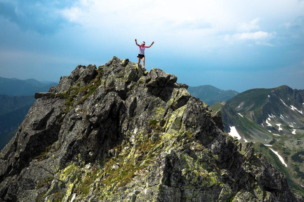 Szpiglasowy Wierch Tatry Wysokie, biegane po górach, zbiegi