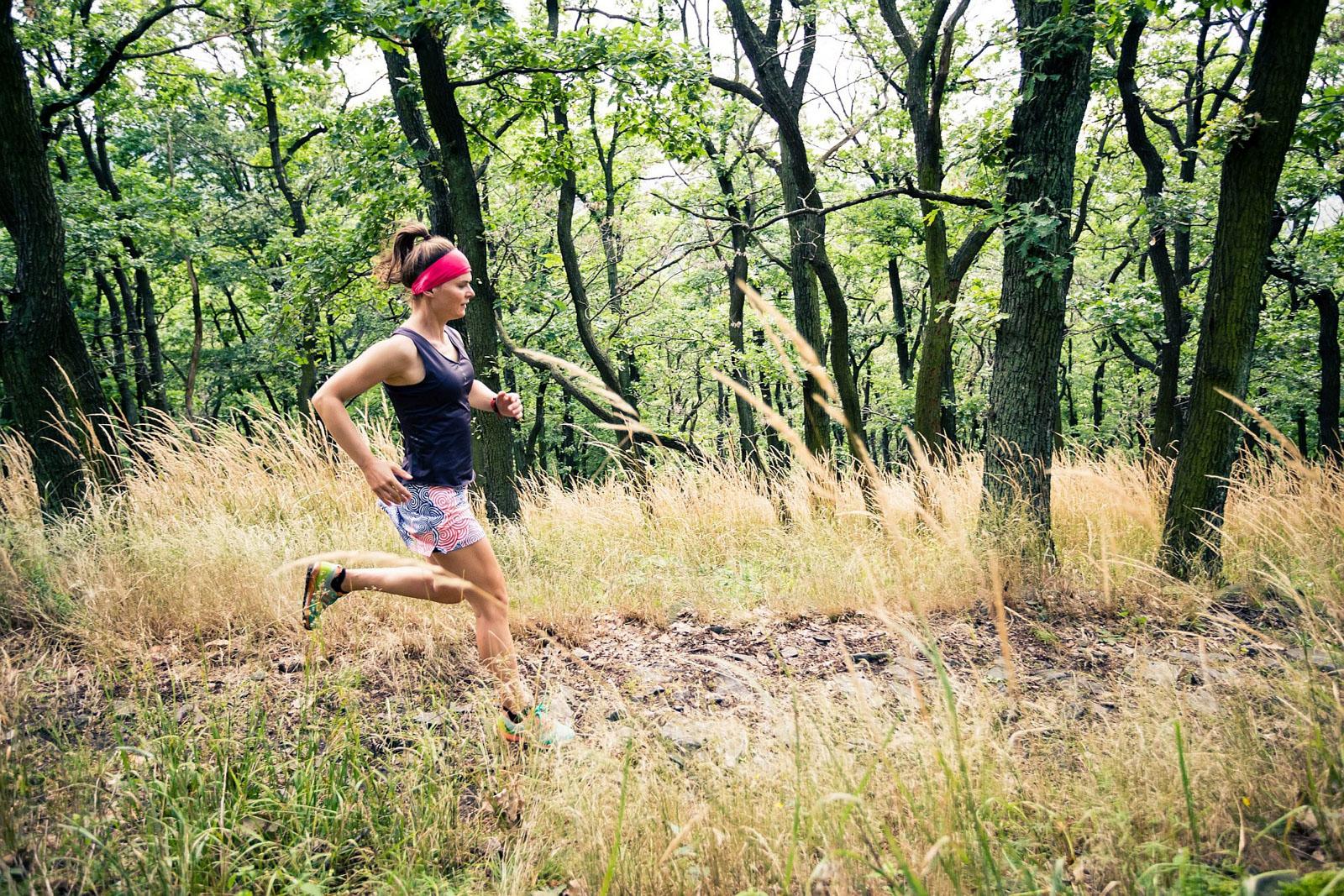 Ślęża, bieganie, trening, biegaczka