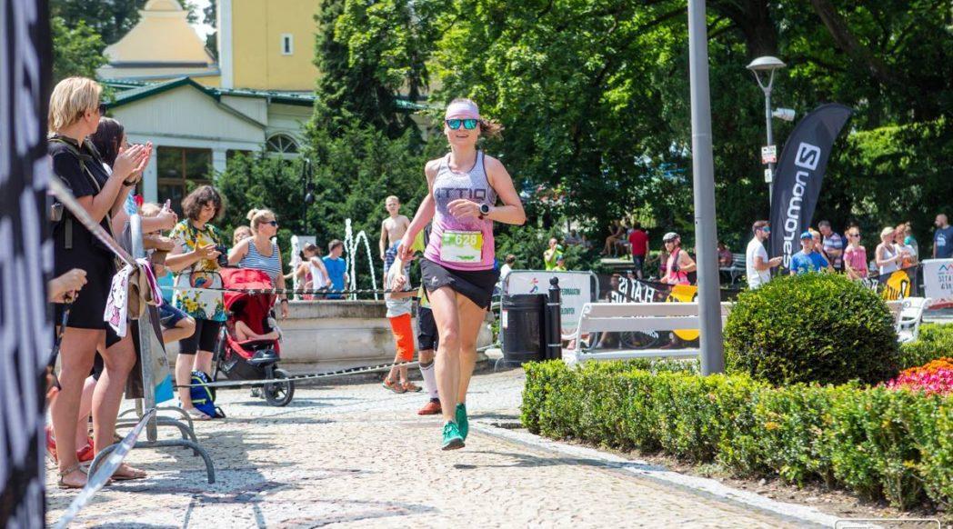 Finisz, Złoty Półmaraton 2018, Olga Łyjak