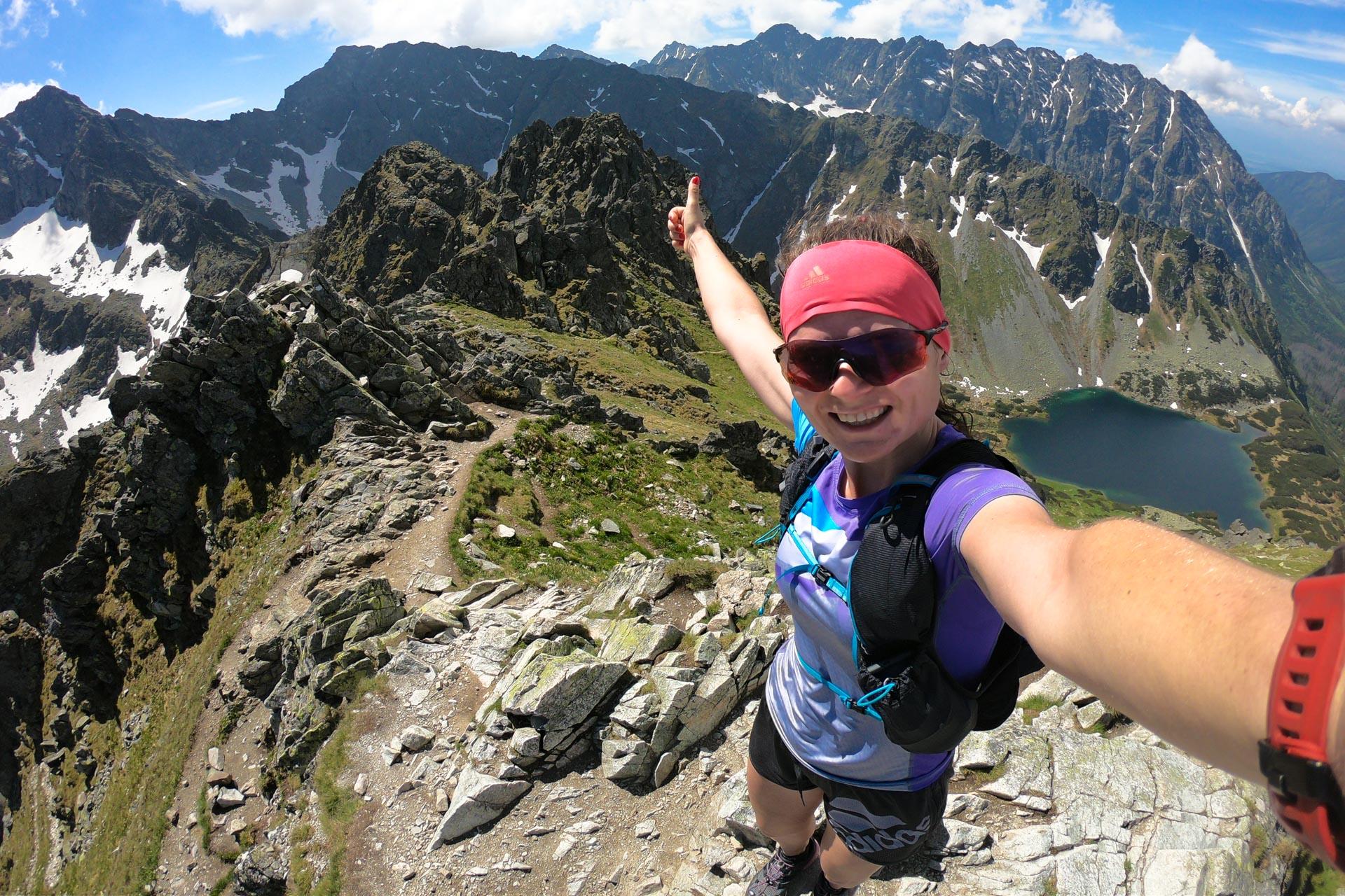 Szpiglasowy Wierch, bieganie po górach, Tatry Wysokie, trasy biegowe w Tatrach