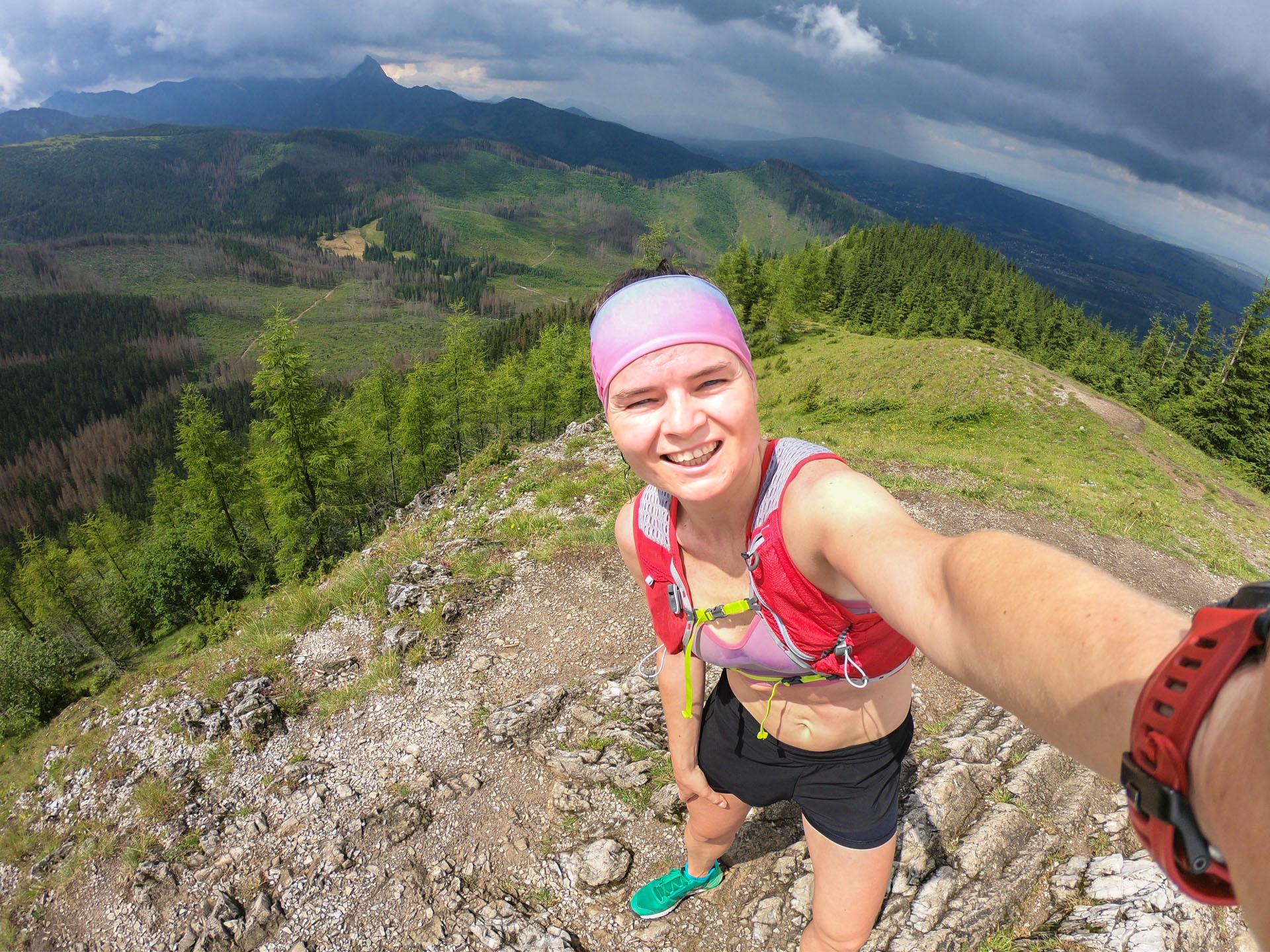 bieganie, trening, Kopieniec, Tatry