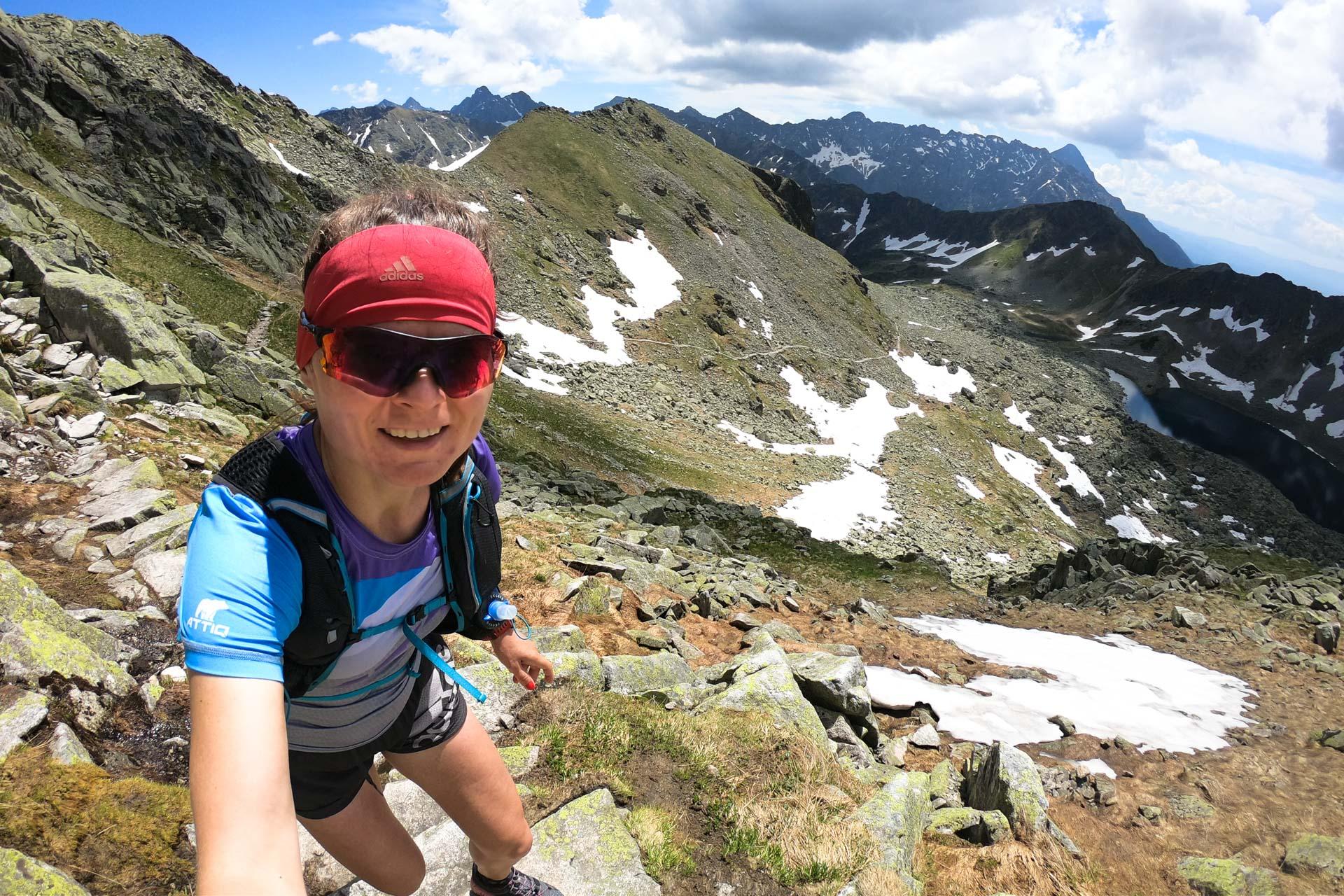 Dolina Pięciu Stawów Polskich, podejście na Zawrat, Tatry Wysokie, trasy biegowe w Tatrach