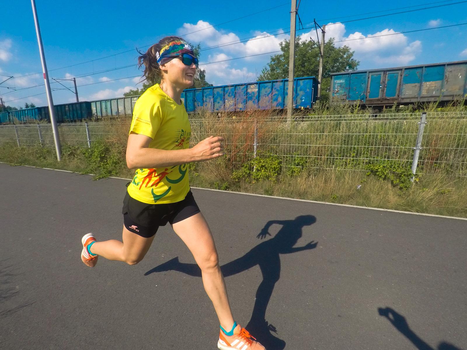 trening, bieganie, biegaczka