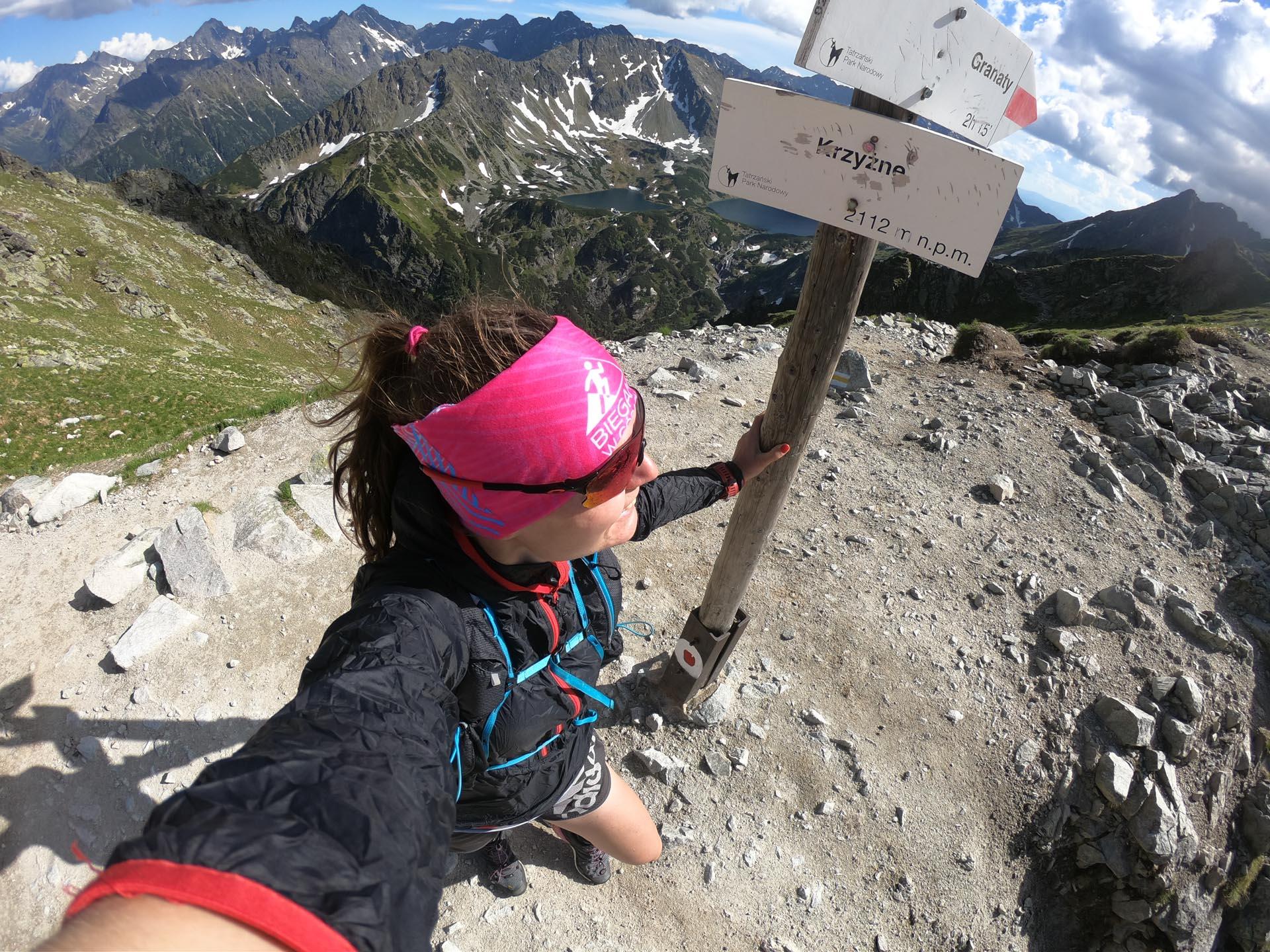 Krzyżne, Tatry Wysokie, trasy biegowe w Tatrach