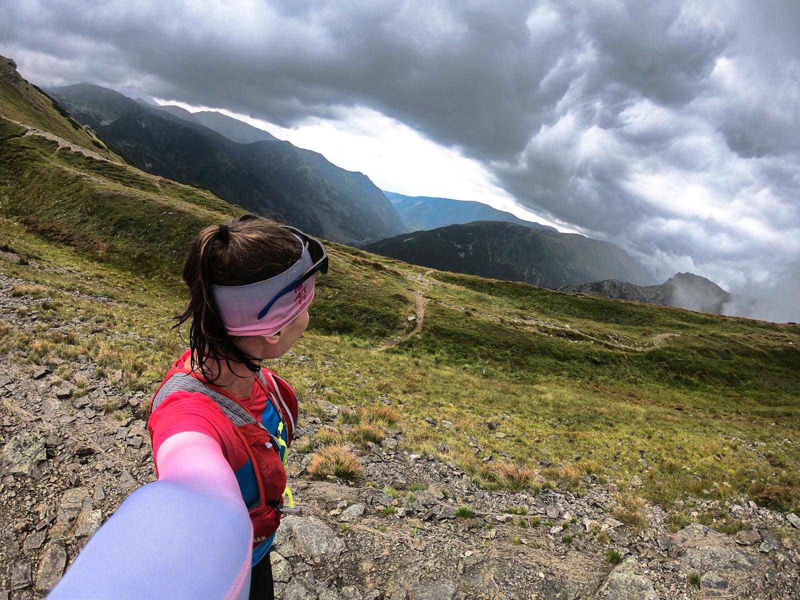 Bieganie w Tatrach, Przełęcz pod Kopą Kondracką