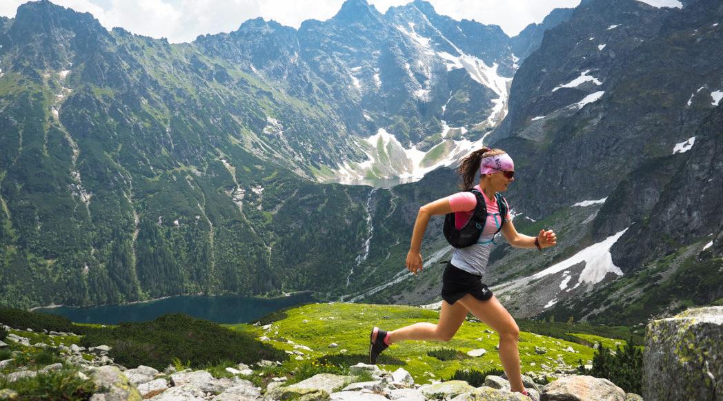 Morskie Oko, Czarny Staw pod Rysami, bieganie po górach, Tatry Wysokie, trasy biegowe w Tatrach