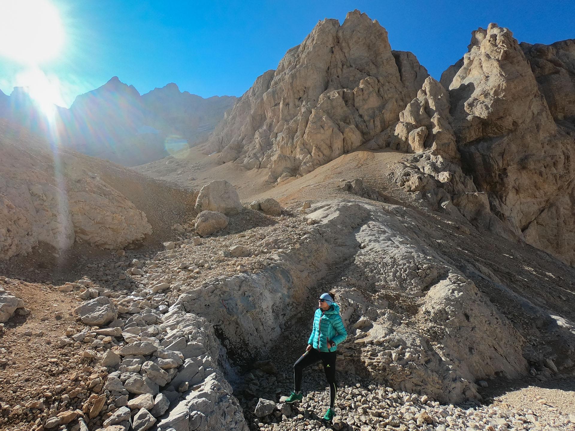 Celikbuyduran 3350 m n.p.m. Aladağlar National Park, Turcja