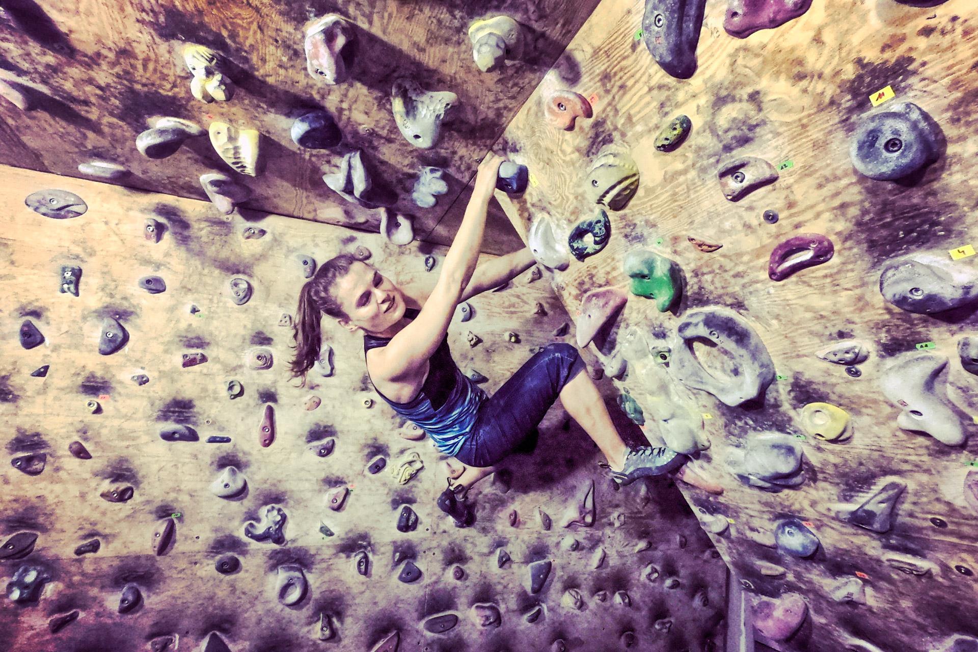 wspinanie, bouldering, ścianka wspinaczkowa
