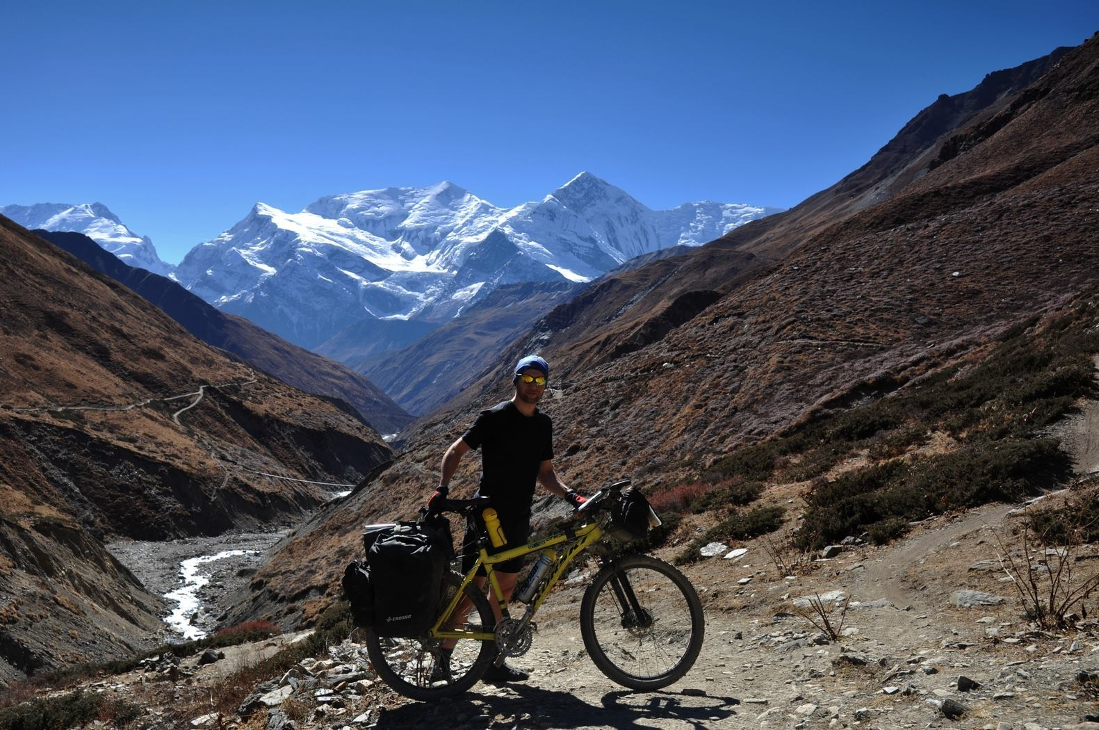 Himalaje, wyprawa rowerowa