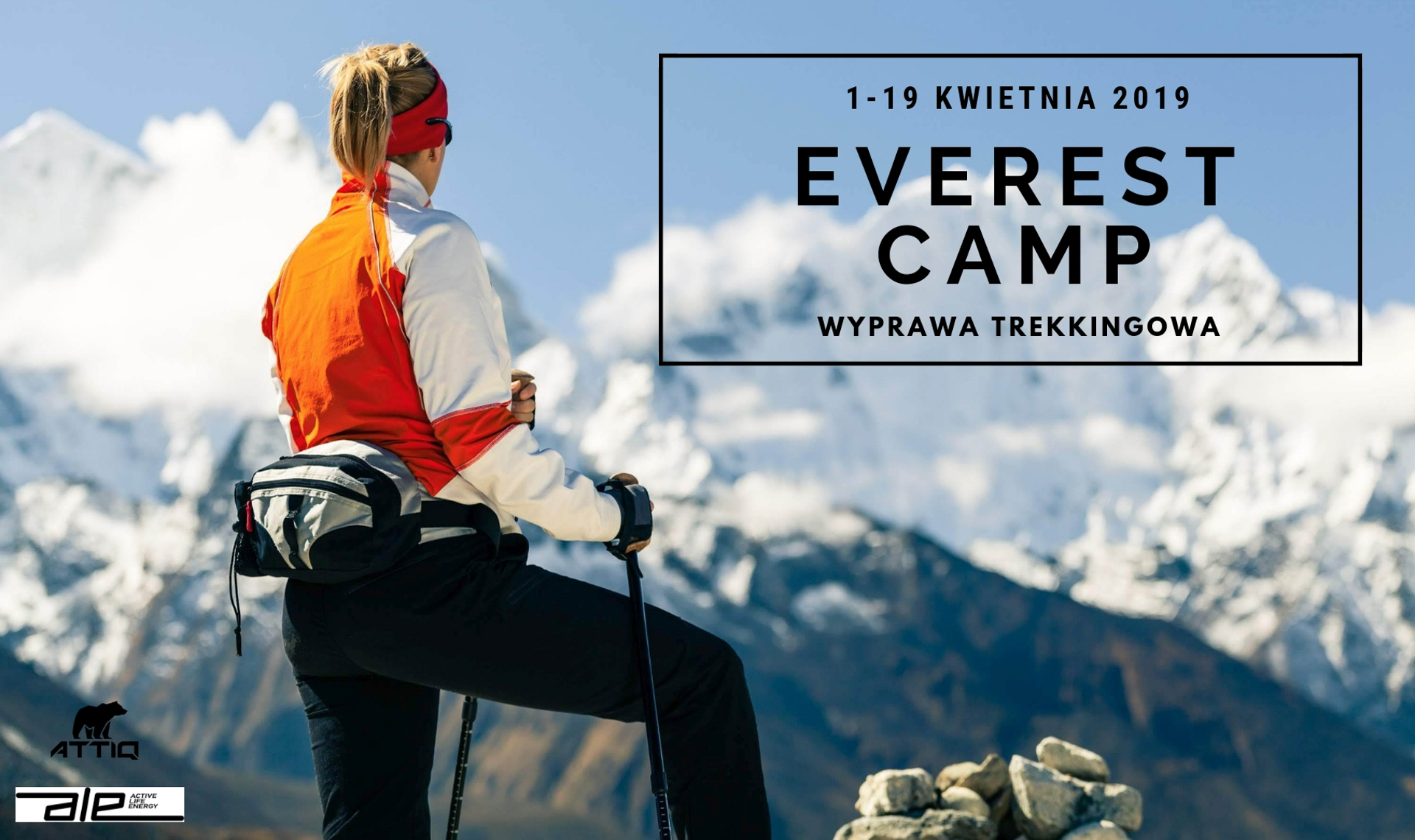 Everest Camp - trekking w Himalajach