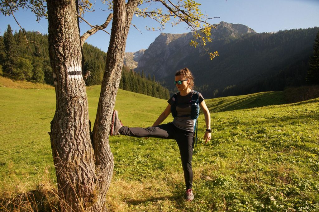 Wielka Polana Małołącka, Tatry, bieganie po górach