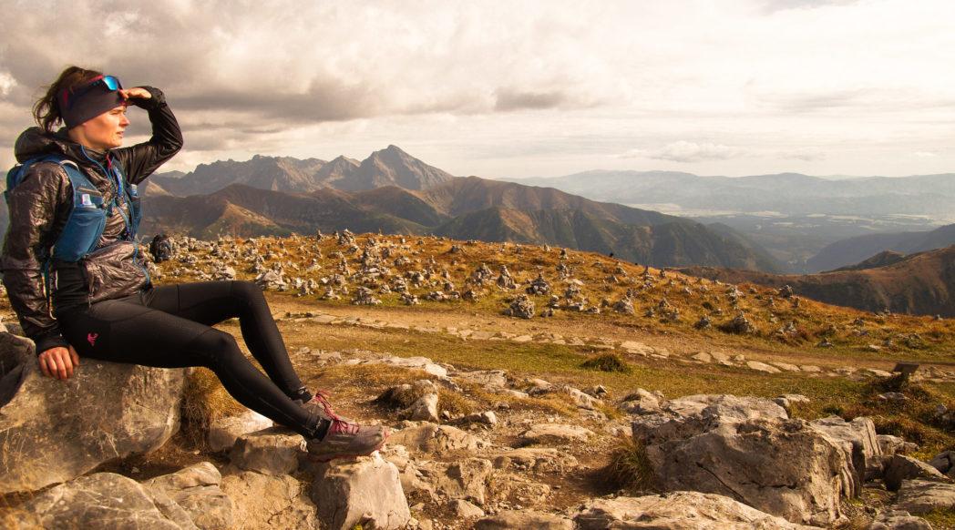 Czerwone Wierchy, Tatry, bieganie po górach