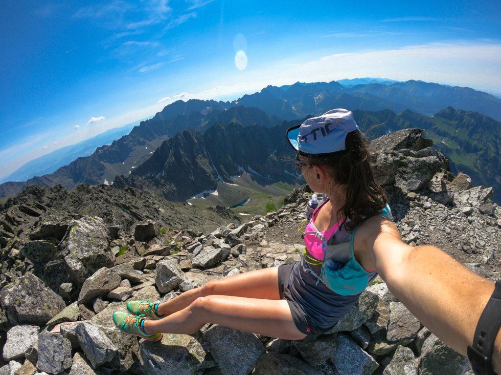 Lodowy Szczyt, Tatry, bieganie po górach